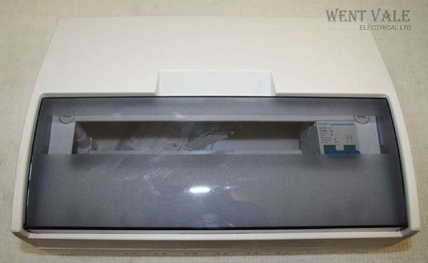 ChiNT NX2-14M - 12 WayConsumer Unit Complete With 100a Incomer Un-used